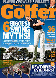 Andrew and Tom murray feature in Today's Golfer magazine